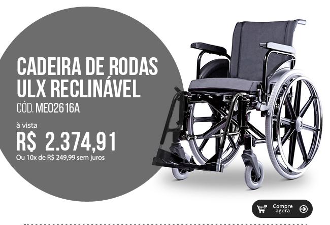 Cadeira de Rodas ULX Ortobras