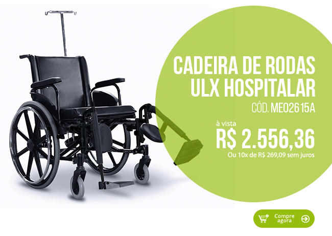 Cadeira de Rodas ULX Hospitalar Ortobras