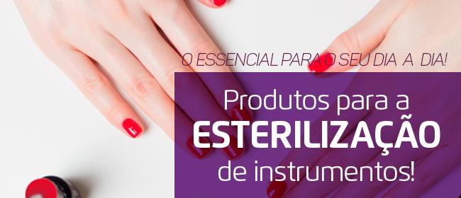 Produtos para a Esterilização de Instrumentos