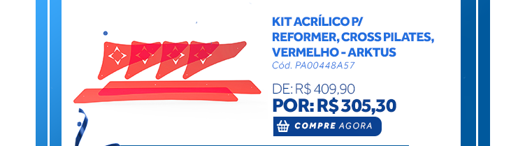 Kit Acrílicos para Reformer Cross Pilates
